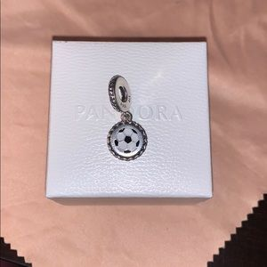 🆕 Pandora Soccer Dangle Charm